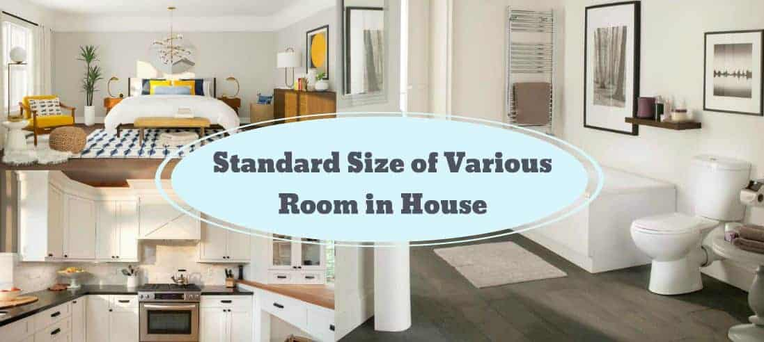 The Standard Room Size Location In A House