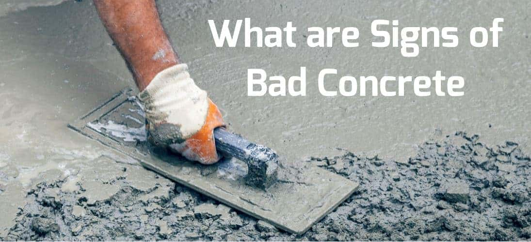8 Signs Of Bad Concrete Pour Defects